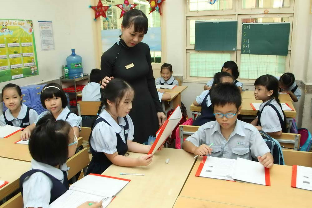 Nhiệm vụ của giáo viên là làm sao để học sinh tham gia học tập tích cực