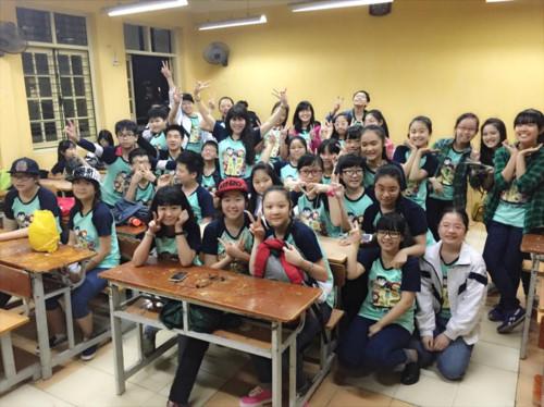 Cô Lan Phương luôn tạo ra các tiết học gần gũi, vui nhộn